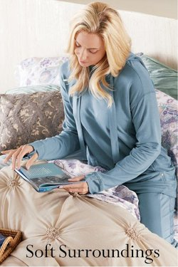 Soft Surroundings deals in the Soft Surroundings catalog ( 19 days left)