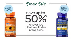 Puritan's Pride coupon ( Expires today )
