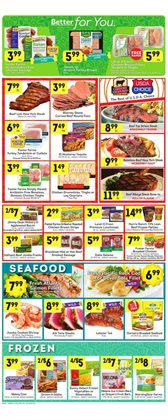 Chicken thighs deals in the Lucky Supermarkets weekly ad in New York
