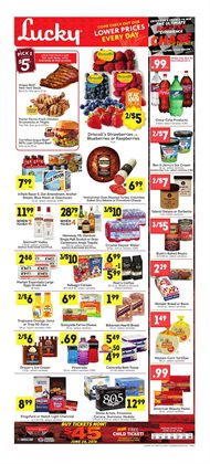 Mars deals in the Lucky Supermarkets weekly ad in New York