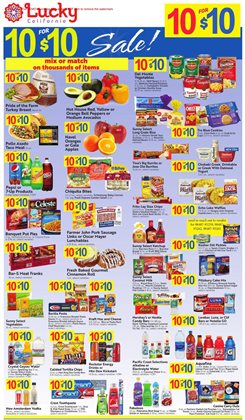 Lucky Supermarkets catalogue in Milpitas CA ( Expires tomorrow )