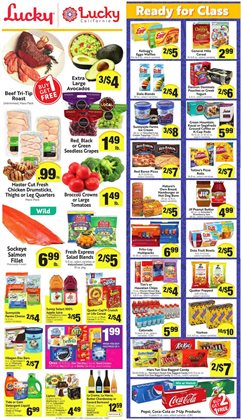 Dole deals in Lucky Supermarkets
