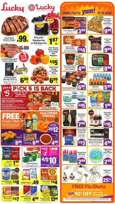 Chips deals in Lucky Supermarkets