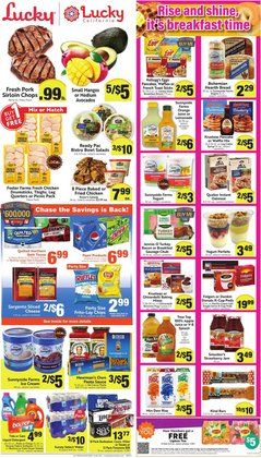 Santa deals in the Lucky Supermarkets catalog ( 3 days left)