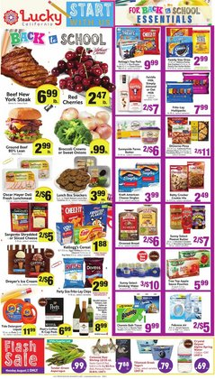 Grocery & Drug deals in the Lucky Supermarkets catalog ( Published today)