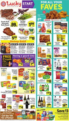 Lucky Supermarkets deals in the Lucky Supermarkets catalog ( 4 days left)