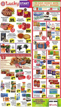 Grocery & Drug deals in the Lucky Supermarkets catalog ( Expires today)