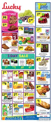 Lucky Supermarkets deals in the New York weekly ad