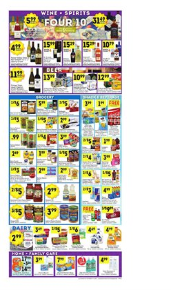 Lucky Supermarkets deals in the Flushing NY weekly ad