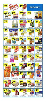 Oil deals in the Lucky Supermarkets weekly ad in New York