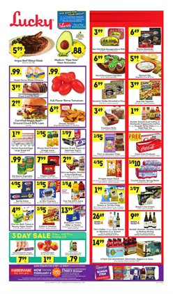 Lucky Supermarkets deals in the San Jose CA weekly ad