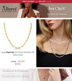 Allurez deals in the Allurez catalog ( 14 days left)