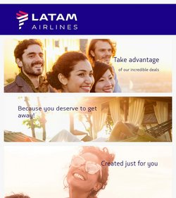 Travel & Leisure deals in the LATAM catalog ( Expires today)