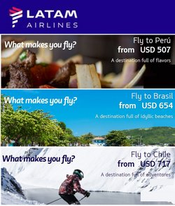 Travel & Leisure deals in the LATAM catalog ( 1 day ago)