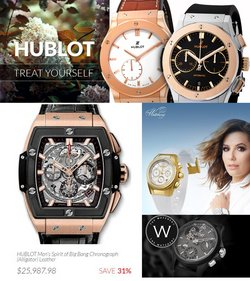 Jewelry & Watches deals in the The Watchery catalog ( 1 day ago)