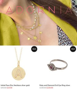 Jewelry & Watches deals in the Adornia catalog ( 4 days left)