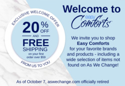 As We Change coupon ( 9 days left )