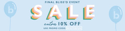 Bella Bliss coupon ( Expires today )