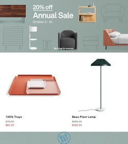 Blu Dot deals in the Blu Dot catalog ( Published today)