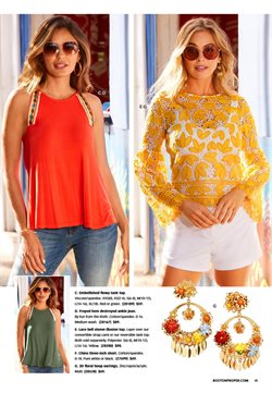 T-shirt deals in the Boston Proper weekly ad in Sugar Land TX
