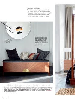Chairs deals in the CB2 weekly ad in New York