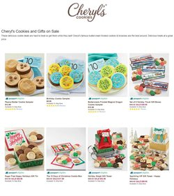 Cheryl's Cookies catalogue ( Expired )