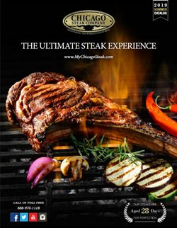 Chicago Steak Company deals in the New York weekly ad