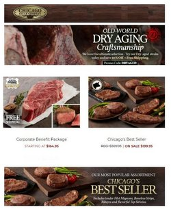 Grocery & Drug deals in the Chicago Steak Company catalog ( Expires today)