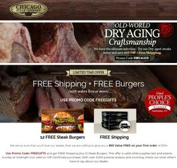 Grocery & Drug deals in the Chicago Steak Company catalog ( Published today)