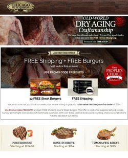 Grocery & Drug deals in the Chicago Steak Company catalog ( Expires tomorrow)