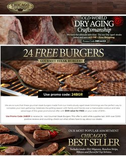 Grocery & Drug deals in the Chicago Steak Company catalog ( 2 days left)