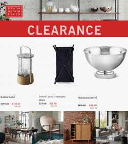 Home & Furniture deals in the Design Within Reach catalog ( Published today)