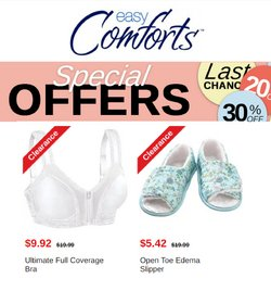 Easy Comforts deals in the Easy Comforts catalog ( Expires today)