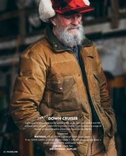 Coat deals in the Filson weekly ad in New York