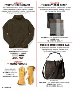 Handbag deals in the Filson weekly ad in New York