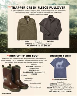 Boots deals in the Filson weekly ad in New York