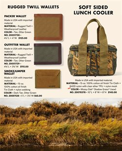 Wallet deals in the Filson weekly ad in New York