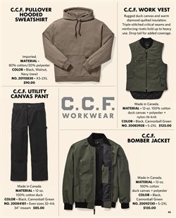 Men's jacket deals in the Filson weekly ad in New York
