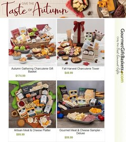 Gifts & Crafts deals in the Gourmet Gift Baskets catalog ( Published today)