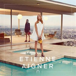 Etienne Aigner deals in the New York weekly ad