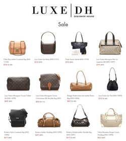 LuxeDH catalogue ( 2 days left )