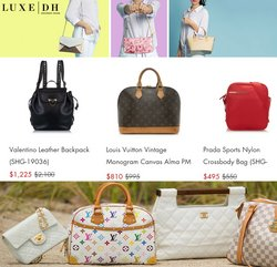 Louis Vuitton deals in the LuxeDH catalog ( 7 days left)