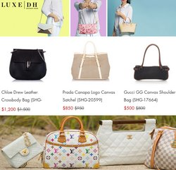 Gucci deals in the LuxeDH catalog ( 10 days left)