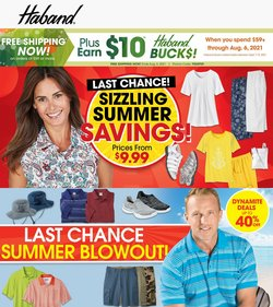 Clothing & Apparel deals in the Haband catalog ( Published today)