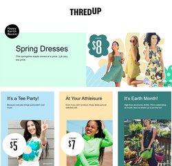 Dress deals in Thredup