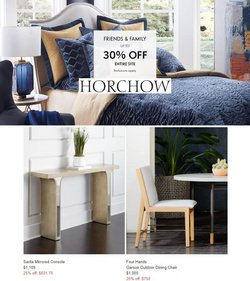 Horchow deals in the Horchow catalog ( Expires today)