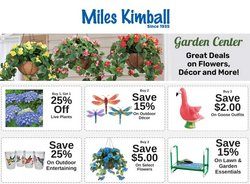 Miles Kimball catalogue ( 1 day ago )