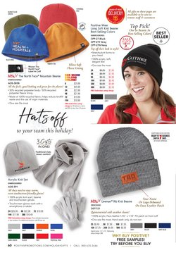 The North Face deals in the Positive Promotions catalog ( 9 days left)