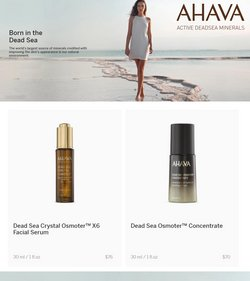 Beauty & Personal Care deals in the Ahava catalog ( Published today)