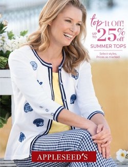 Clothing & Apparel deals in the Bedford Fair catalog ( 29 days left)